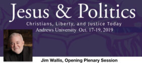 October 17, 2019 Jesus and Politics, Opening Address