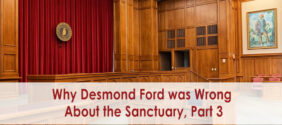 Why Desmond Ford was Wrong About the Sanctuary, Part 3